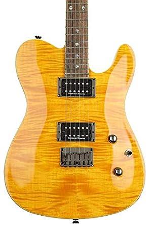 Fender Telecaster Custom Telecaster FMT Amber · Guitarra eléctrica: Amazon.es: Instrumentos musicales