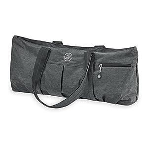 Gaiam All Day Yoga Tote Yoga Mat Bag, Grey