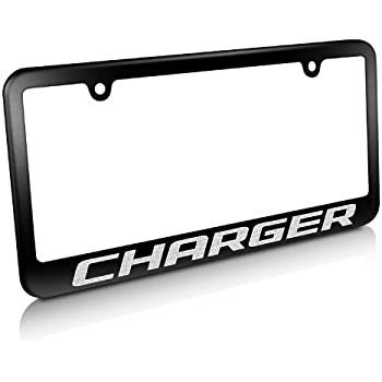 Amazon Com Carbeyondstore Dodge Charger Matte Black Metal