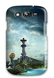 For Galaxy S3 Tpu Phone Case Cover(chess Land)