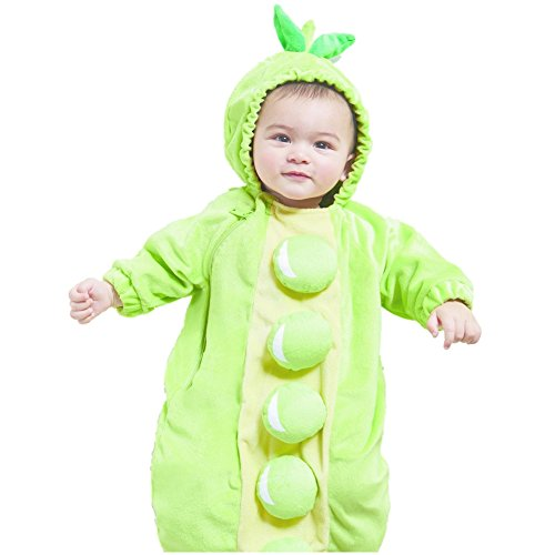 Baby Plush Peapod Bunting