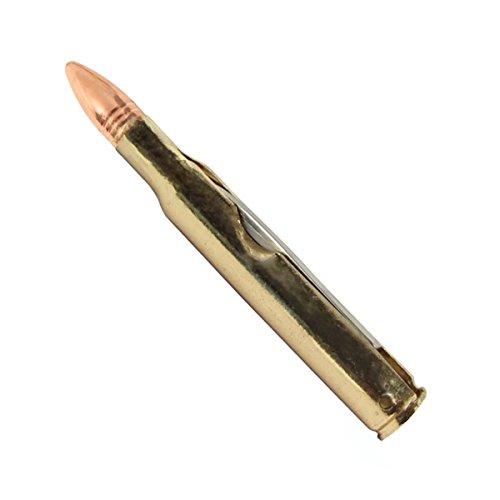 .308 Long Range Rifle Bullet Shaped Folding Pocket Knife