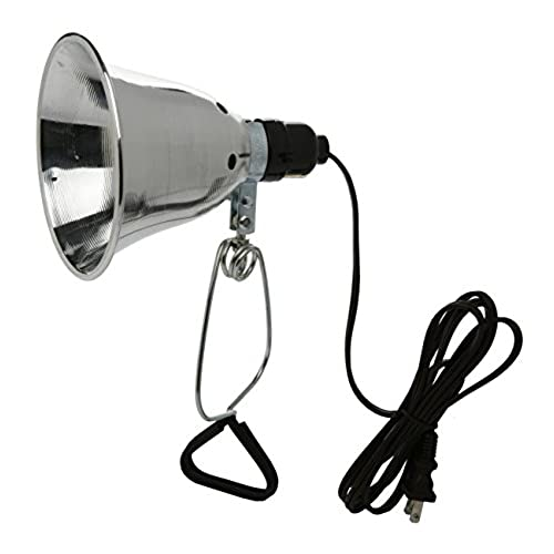 Woods  Spt  Clamp Lamp With   Inch Reflector  Foot Cord