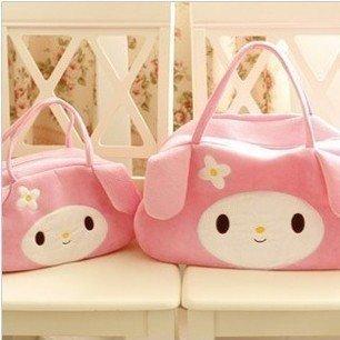 Sanrio My Melody Eco Friendly Premium Plush Velour Shoulder Bag