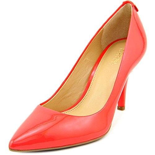 Michael Michael Kors Flex Mid Pump Women US 6 Pink Heels 1743Fx