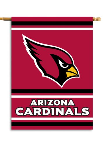 Fremont Die NFL Arizona Cardinals 2-Sided 28-by-40-Inch House Banner