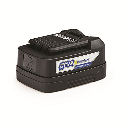 Graco 17C930 G20 Lithium-ion PowerPack Battery for Handheld Sprayers 20V by Graco