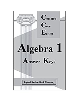 Algebra 1 workbook answer key array answer key for algebra 1 workbook common core edition topical rh amazon com fandeluxe Choice Image