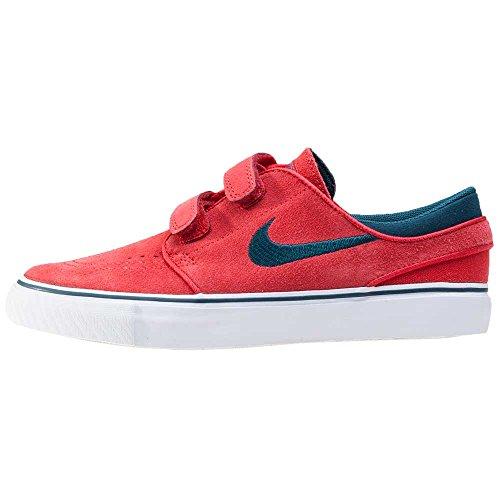 Nike Stefan Janoski Ac (Ps), Zapatillas de Skateboarding Niños Rojo (University Red / Midnight Turq-White)