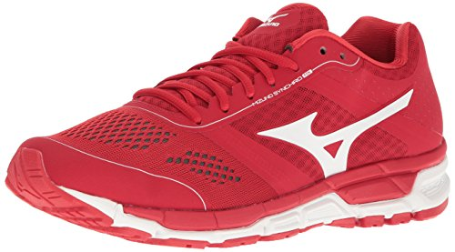 (Mizuno Men's Synchro Mx Baseball Shoe, Red/White, 10.5 D US)