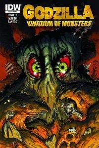 """Godzilla Kingdom Of Monsters #10 """"RI Variant"""" ebook"""