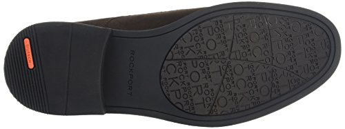 Rockport Classic Break Plain Toe - Zapatos Hombre Marrón - Brown (Dark Bitter Chocolate)