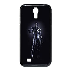 Samsung Galaxy S4 9500 Cell Phone Case Black_al99 ironman dark figure hero art avengers Ocwwb