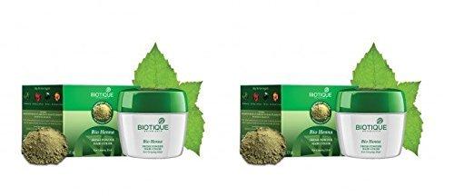 Biotique Bio Heena Fresh Powder Hair Color For Greying Hair 90 g - 2 pk by Biotique