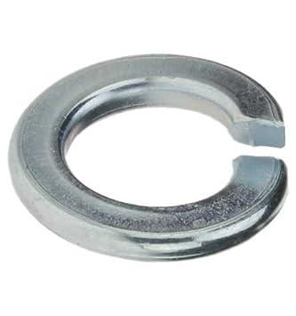 Reidl Federringe 6 mm Au/ßendurchmesser 11,8 DIN 127 Stahl galv verzinkt farblos 200 St/ück
