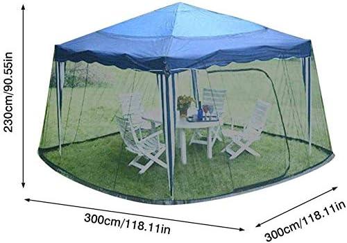 Tent Draagbaar Geschikt Buiten Tuin Paraplu Voor Gazebos, Polyester, Enkele Deur, Rits Entree Parasols