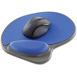 Kensington Memory Foam Mouse Wrist Pillow - Blue