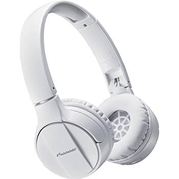 Pioneer Bluetooth Dynamic closed-type headphones PIONEER SE-MJ553BT-W (White)