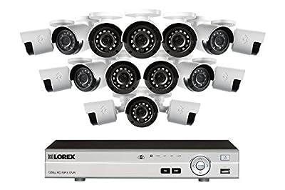 Lorex 4K 16 Channel 3TB DVR with 16 1080P Cameras