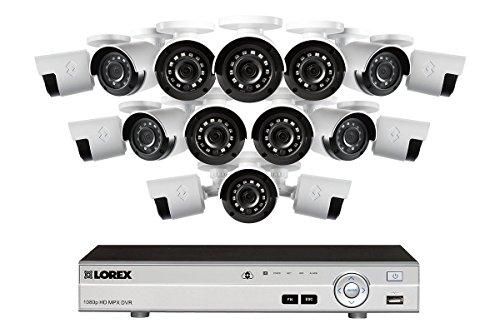 Lorex DV7163 16 Channel 1080P HD MDX 3TB DVR Security System w/