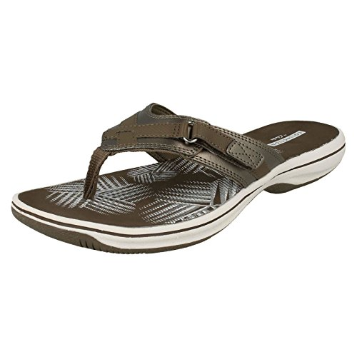 Clarks Brinkley Sea - Pewter Synthetic