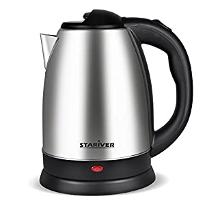 Electric Kettle 2.0L Stainless Steel Cordless with Fast Boil, Auto Shut Off and Boil Dry Protection, Electric Tea Kettle - Classic Collection 2 - Stariver