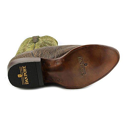 Dan Post Mens Calf High Plains Cowboy Boot Round Toe - Dp2194 Brown iYmyLBA