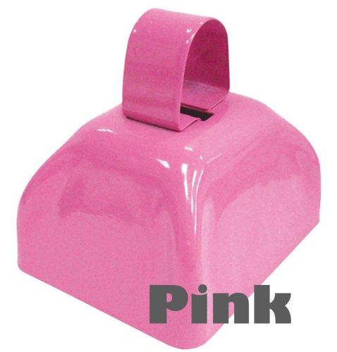 12 Cowbells - 1 dozen same color - PINK ()