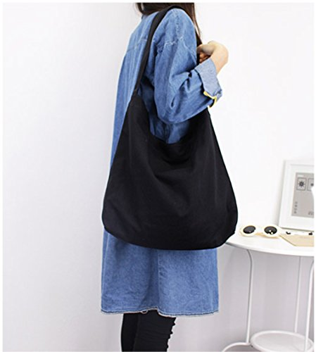 Paint Canvas Shoulder Color DIY Craft Gray Soild Hoxis Hobo Tote Handbag Bag 8wZWI
