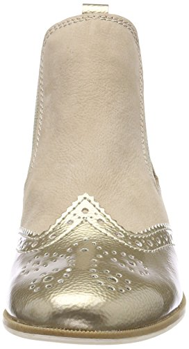 Marco Tozzi Premio Damen 25307 Chelsea Boots Beige (Dune Comb)