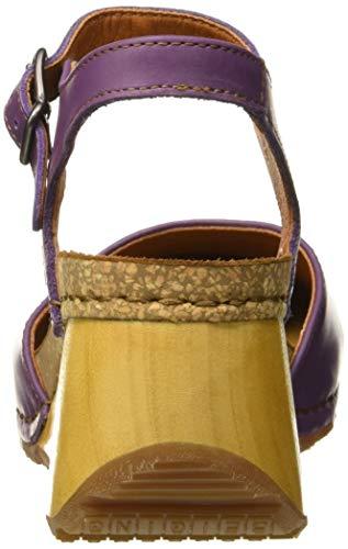 Donna Violet borne Chiusura Viola Art Sandali Violet Con 1328 Sul violet Grass Retro 7Wnq4wzH