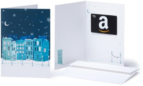UPC 848719011296, Amazon.com $70 Gift Card in a Greeting Card (Winter Design)
