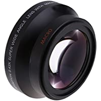 Andoer 67mm 0.43× Digital High Definition SuPer Wide Angle Lens With Macro Optics for Canon Rebel T5i T4i T3i 18-135mm 17-85mm and Nikon 18-105 70-300VR