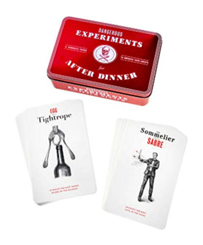 Deck of 21 Dangerous Experiments for After Dinner Party Favor from Unknown