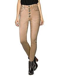 HyBrid & Company Womens Super Stretch Comfort High Waist High Rise Skinny Jeans