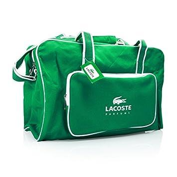 43b22e1b0523 Lacoste Logo Duffle Bag Green