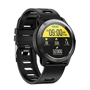 Amazon.com: Reloj inteligente, IP68 Impermeable Pulsómetro ...