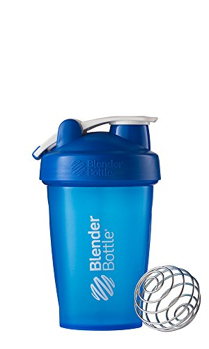 BlenderBottle Classic Loop Top Shaker Bottle, Blue/Blue, 20-Ounce