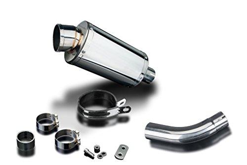 Stainless Steel Oval Silencer - Suzuki SV650 SS70 9