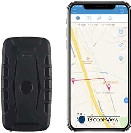 Global-View.Net Hidden Magnetic GPS Vehicle Tracking Device with Software (2 Month Battery) - Car GPS Tracker - Amazing!