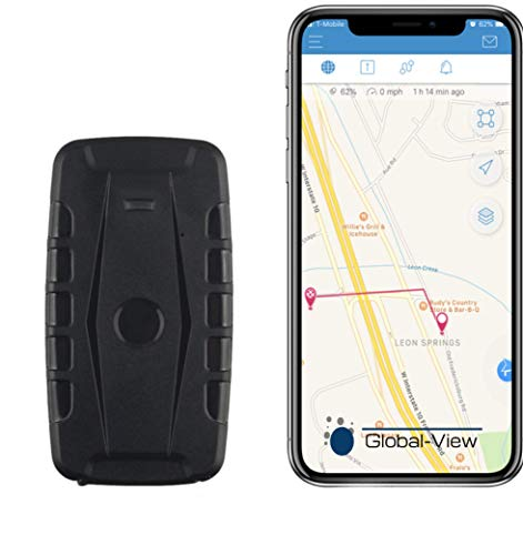 Hidden Magnetic GPS Vehicle Tracking Device with Software (2 Month Battery) - Car GPS Tracker - Amazing!