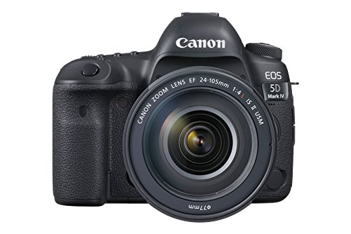 Canon EOS 5D Mark IV Full Frame Digital SLR Camera with EF...