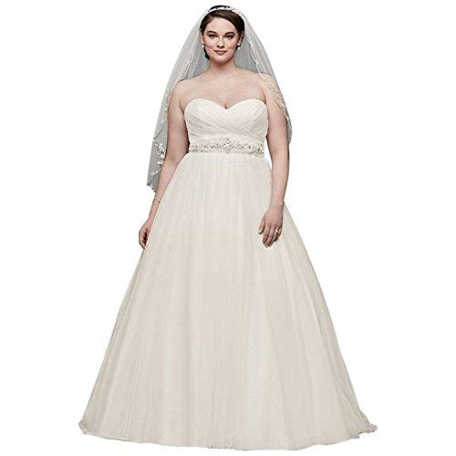 フリルワイン振り向くDavid's Bridal DRESS レディース