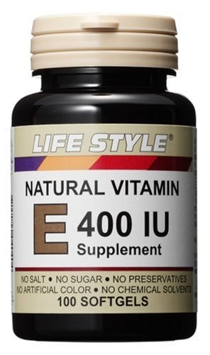 Life Style Vitamin E400 by Lifestyle
