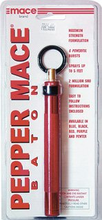Pepper Mace Spray - Baton (Red)