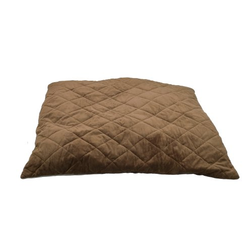 K&H Thermo-Bed, Quilted, Large, Tan/Mocha, 36×38, 13 watts For Sale