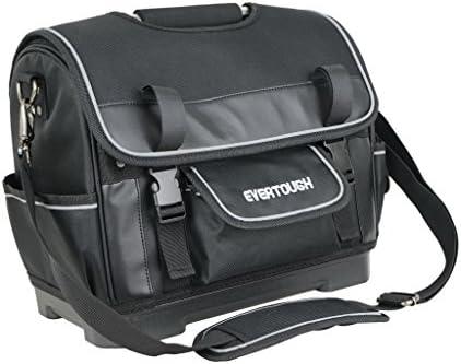 Flameer ツールバッグ 作業用 工具袋 オックスフォード布 ショルダーストラップ ハンドル付き