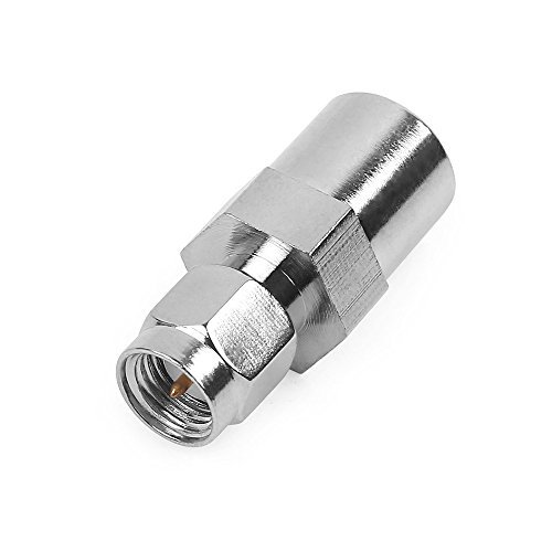 Phonetone FME male to SMA male plug RF Coaxial Cable connector converter adapter