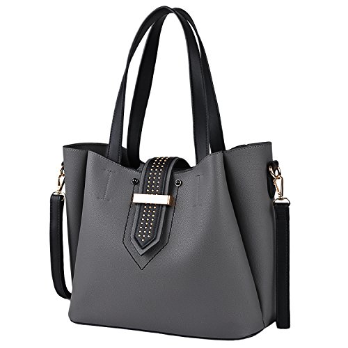 Handbag with Womens Handbags Purse Crossbody Shoulder Handbags for Clutch Pcs Handbags Set Bag 2 Women COOFIT Tote qI08wrI