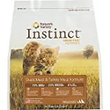 Instinct Grain-Free Duck Meal and Turkey Meal Dry Cat Food by Nature's Variety, 5.5-Pounds Package, My Pet Supplies